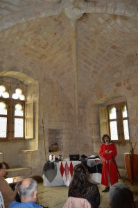 Conférence au Château d'Arques