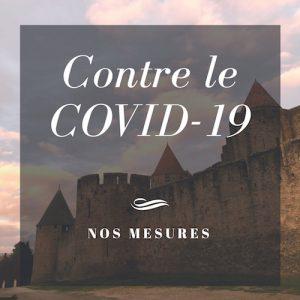 Nos mesures contre le COVID-19